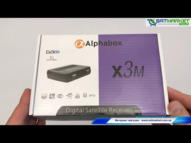 Видео обзор Alphabox X3M