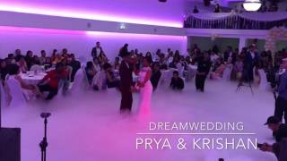 Dutch Indian Wedding Dance Prya & Kishan at Jagdish Cultural Centre Utrecht