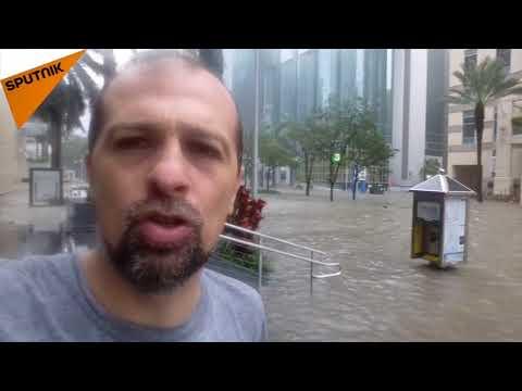 Srbin u centru uragana u Majamiju 10.09.2017.