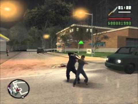 Michael Myers In GTA San Andreas