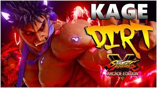 SFV AE - The Pro's Play Kage | Season 4 Dirt Compilation - SF5