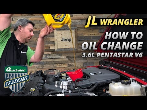 How to Change the Oil in your Jeep Wrangler JL