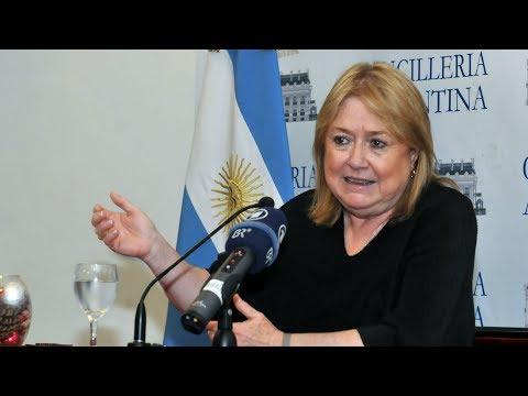 Renunció a la cancillería Susana Malcorra