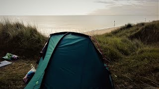 WALKING AND WILD CAMPING ON THE NORFOLK COAST PATH | CROMER TO LOWESTOFT | PART 2