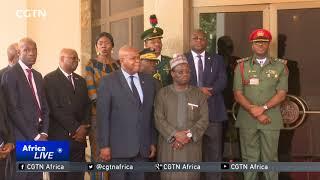Liberia's President George Weah woos Nigerian investors