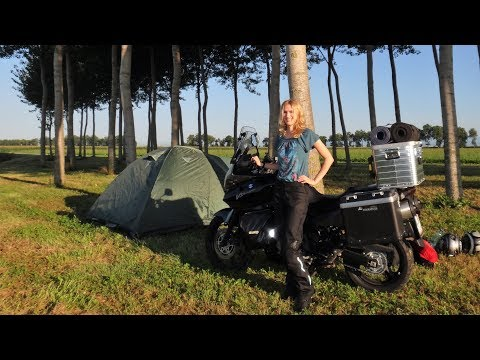 Italy, France, Spain,... A Motorcycle Trip