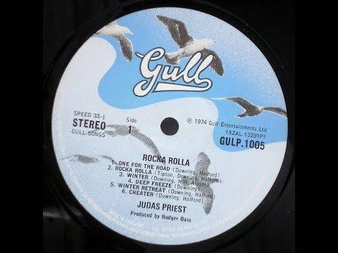 JUDAS PRIEST Rocka Rolla RARE UK 1974 1st press LP Gull heavy metal NWOBHM £200
