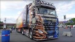 Truckerparadies Geiselwind - Abenteuer Autohof [Trucker Doku 2015]   HD