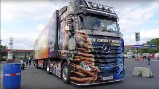 Truckerparadies Geiselwind - Abenteuer Autohof Trucker Doku 2015   HD