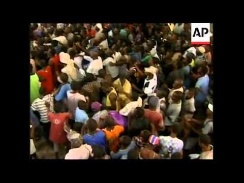WRAP Riots break out at UN aid distribution points