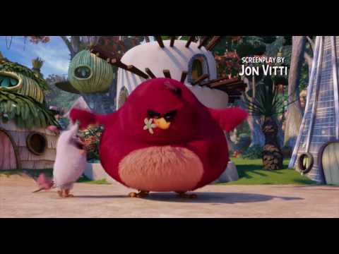 Angry birds movie end credits.New!bluray