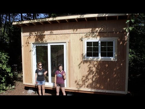 Tiny House Build - Foundation And Framing