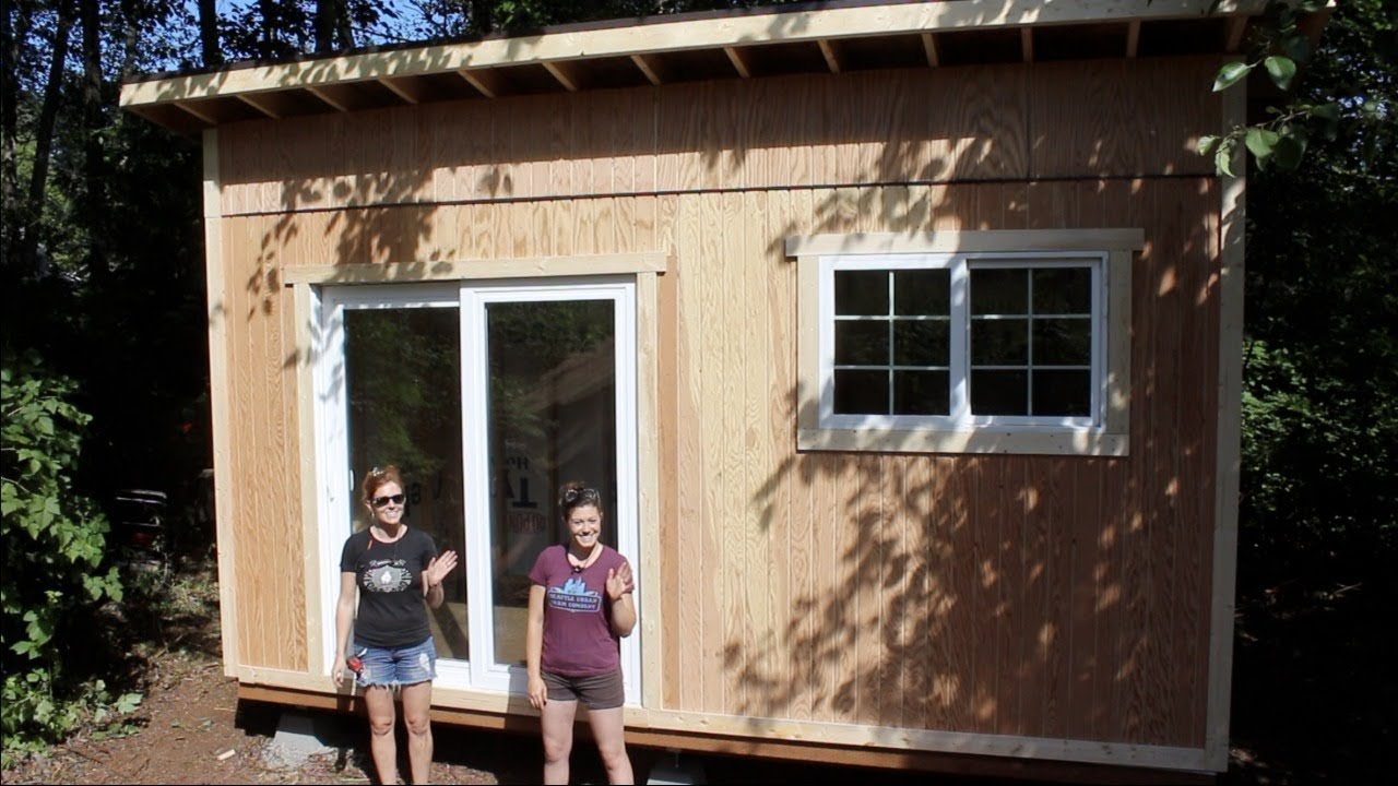 Tiny House Build Foundation And Framing Youtube