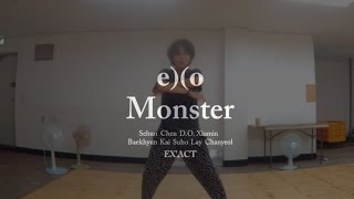 Video Monster by Exo Easy Mirrored Dance Tutorial 2 _ with Learning Korean~! download MP3, 3GP, MP4, WEBM, AVI, FLV Agustus 2017