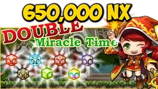 [MapleStory] 650K NX Double Miracle Time (July 18th, 2015)
