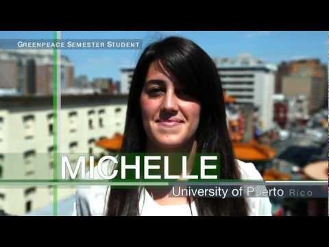Greenpeace Semester: Be the Change