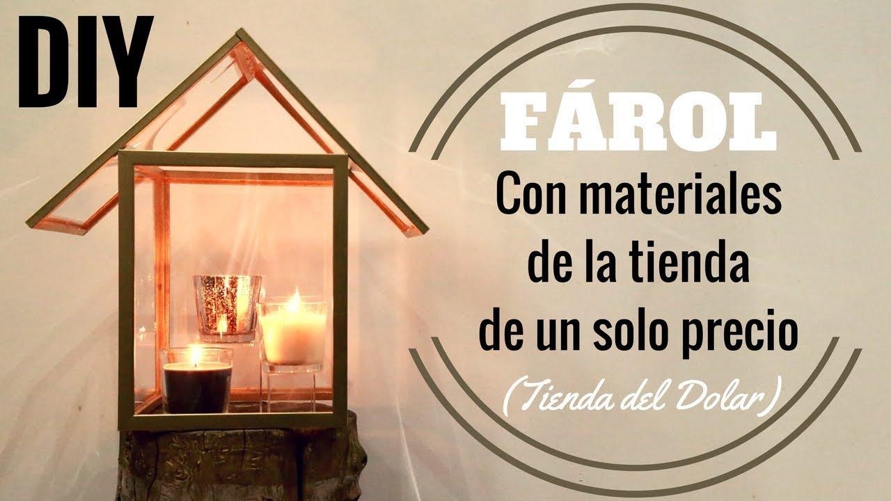COMO HACER UN FAROL CON MARCOS PARA FOTOS | DIY | Pabla en casa ...