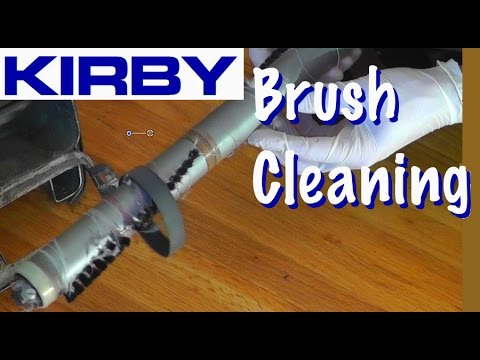 Kirby Vacuum Brush Cleaning Replacement Youtube