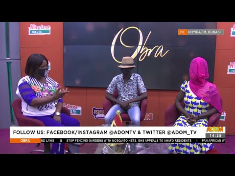 Teenager accepts impregnating a woman yet his parents deny the pregnancy - Obra on Adom TV (30-7-21)