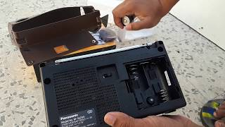 Unboxing Panasonic RF-562DD