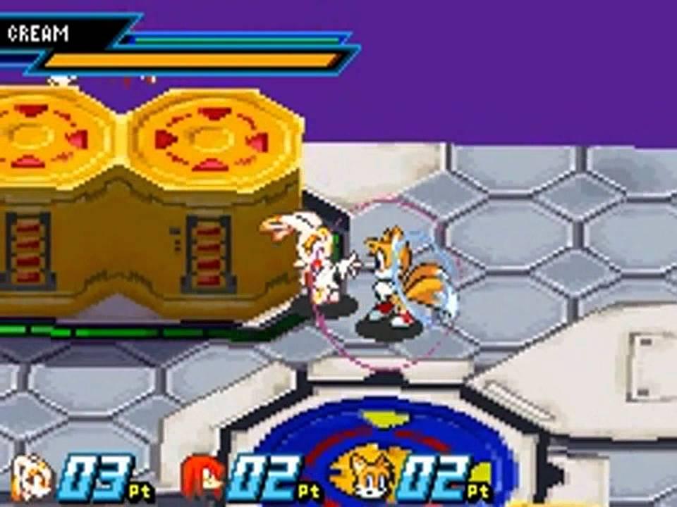 Sonic Battle GBA ROM #19
