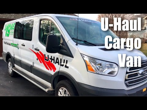 The 9' Cargo Van rental from U-Haul