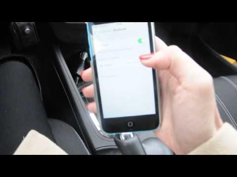 Подключение к Bluetooth на Renault Megane III