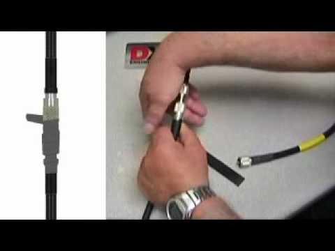 Weatherproofing Coaxial Connectors