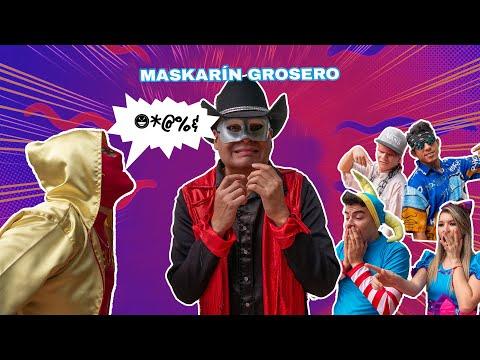 MASKARIN Dice GROSERIAS / ¡Se Lo Lleva La POLICÍA! / Manito Y Maskarin