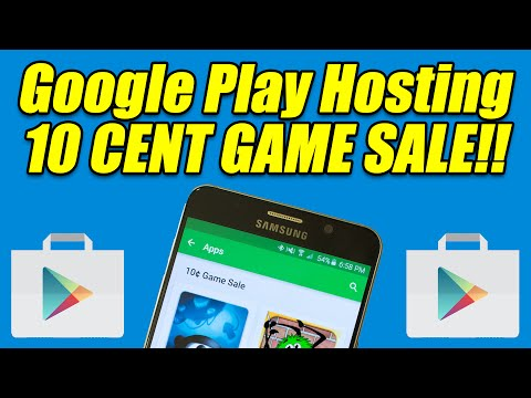 10 Cent Google Play GAME SALE!! – Limited Time!!