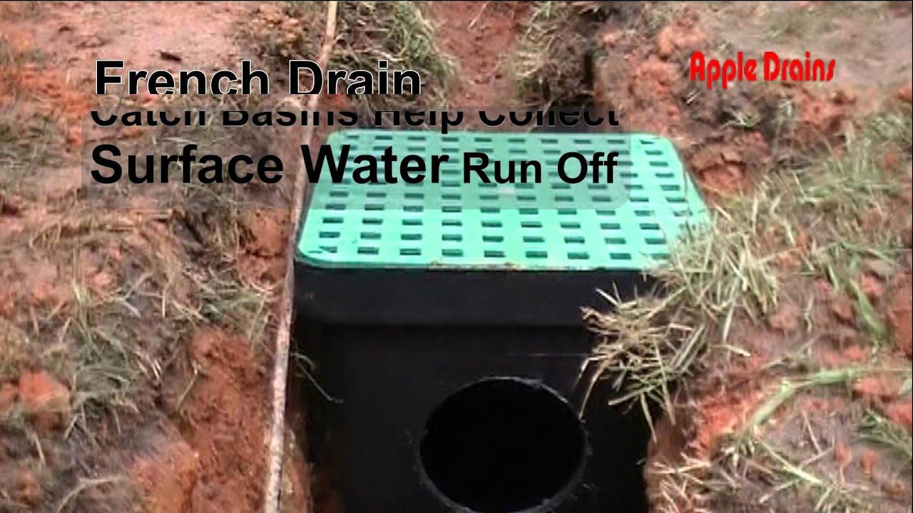 French Drain Help, Soil Seperator Is Used To Help Keep Dirt Out Of The  System, French Drain DIY   YouTube