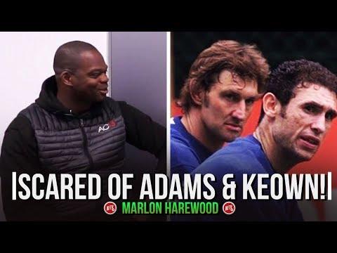 I Was Scared Of Adams & Keown!   Moh Meets Marlon Harewood.