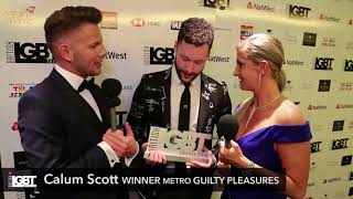 Backstage With Metro Guilty Pleasure Winner Calum Scott | British LGBT Awards 2018