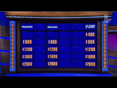 LLNL featured on Jeopardy: The science of security