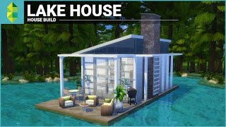 One of The Sim Supply's most viewed videos: The Sims 4 House Building - Lake House (Tiny 4x6 Grid)