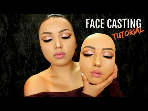 Realistic Face Casting Tutorial !!!