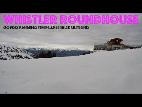 GoPro HERO4 Black Whistler Roundhouse Panning Time-Lapse 4K UltraHD