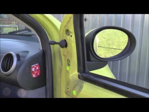 Citroen C1 /& Toyota Aygo /& Puegeuot 107 2005-2015 Manual Door Wing Mirror Pair