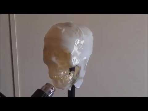 How to make a milk jug skull