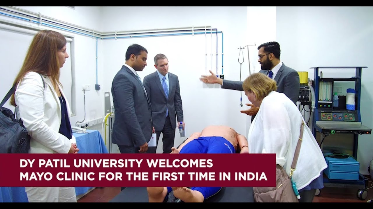 For the FIRST time in India- Mayo Clinic, USA Faculty teach