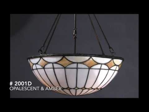 Antique Leaded Glass Inverted Domes from 1905 (1/27/14) Currently Available