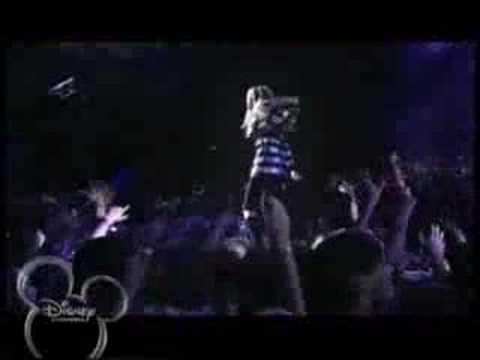 Hannah Montana-Rockstar Music Video[3D concert movie]