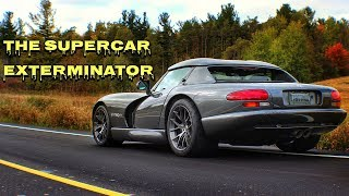 The Supercar Exterminator | 1400 WHP Dodge Viper RT10 | Twin Turbo ...