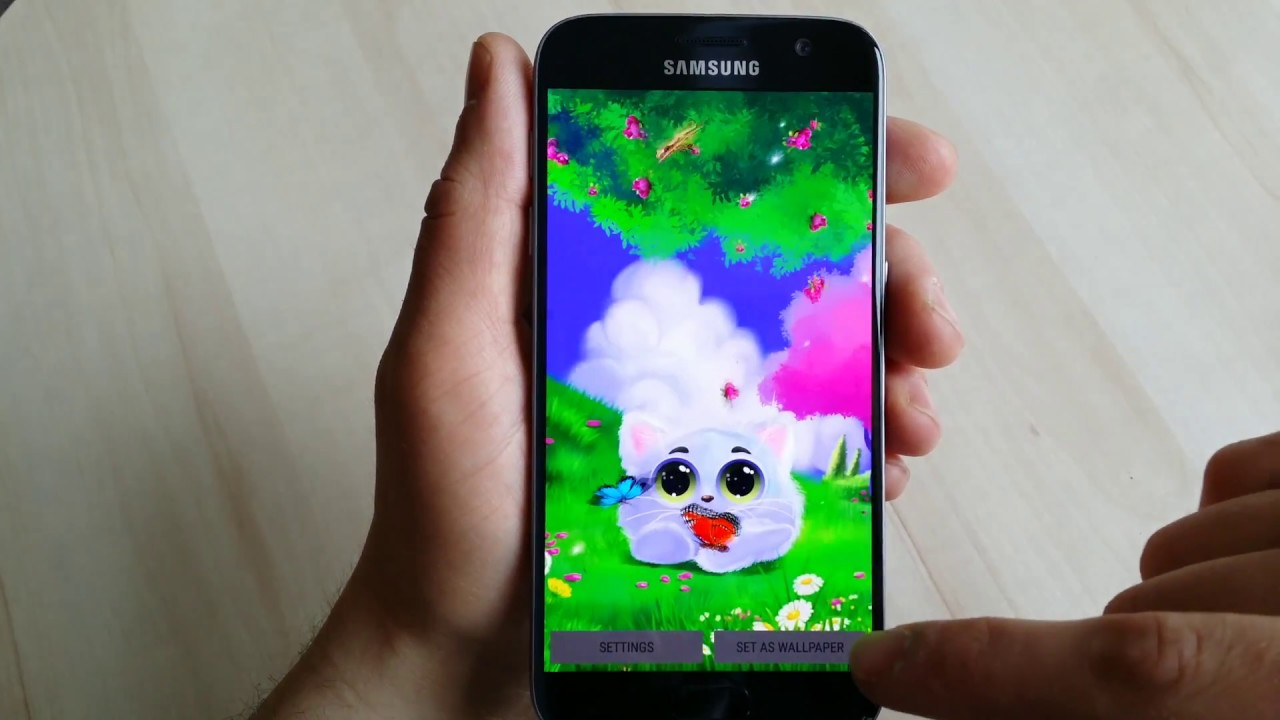 Animated Wallpaper For Android Phones: Animated Cat Live Wallpaper For Android Phones And Tablets