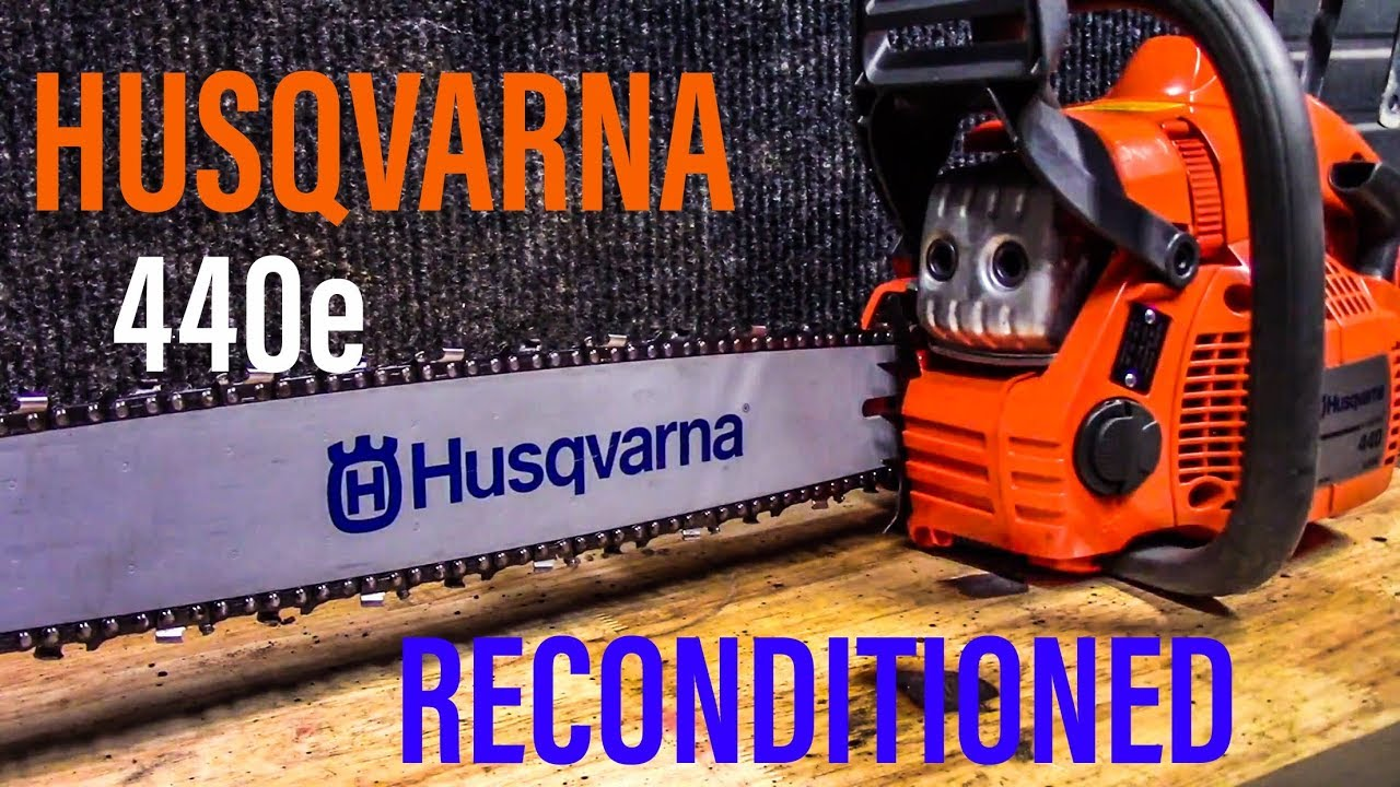 Reconditioned Husqvarna 440e What You Get From Northern Tool Youtube