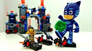Мультик с игрушками Герои в масках и Лего Нексо Найтс