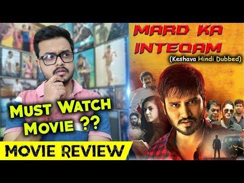 Mard Ka Inteqam (Keshava) Hindi Dubbed Movie Review   By Crazy 4 Movie   Nikhil Siddharth