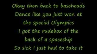 Robbie Williams - Rudebox (lyrics)