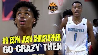 ESPN# 9 2020 G Josh Christopher GOES CRAZY vs  Scottie Barnes and Florida Nightrydas