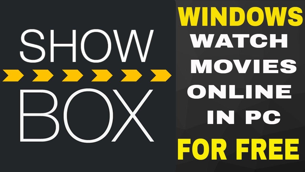 showbox pc online